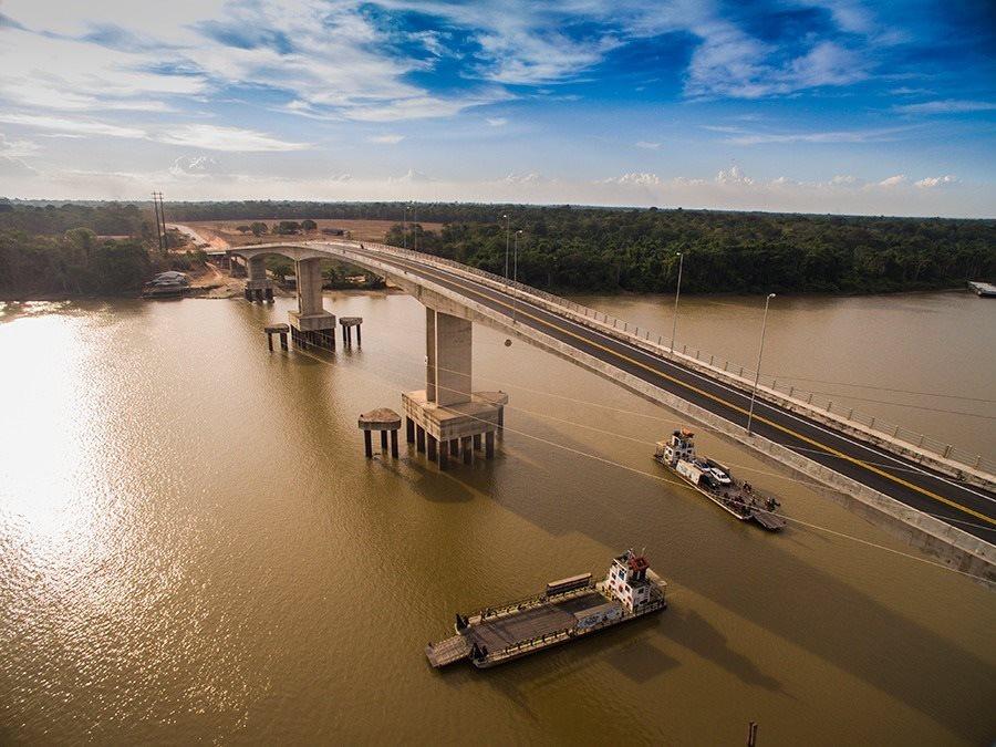 Tudo pronto para inauguração da ponte do Matapi