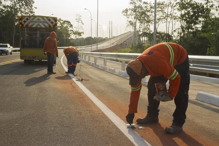 Ponte do Matapi recebe últimos serviços para inauguração