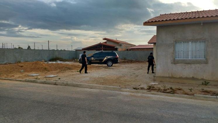 Polícia Federal faz busca na casa do prefeito de Ferreira Gomes