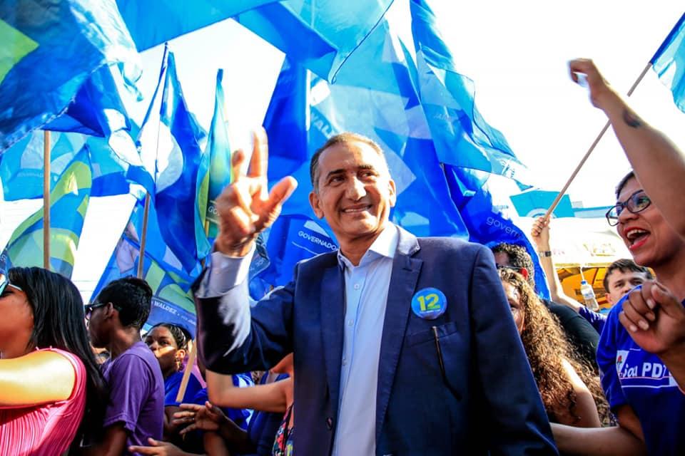 Waldez vence eleição para o governo
