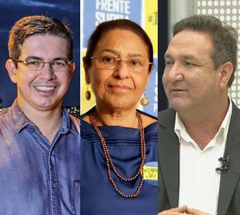 Pesquisa Doxa: Randolfe 30,6%, Janete 14,7%, Lucas 10,4%