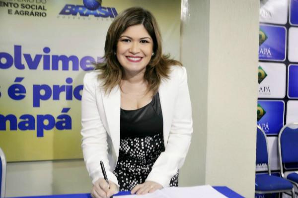 Aline quer disputar a prefeitura de Macapá, em 2020