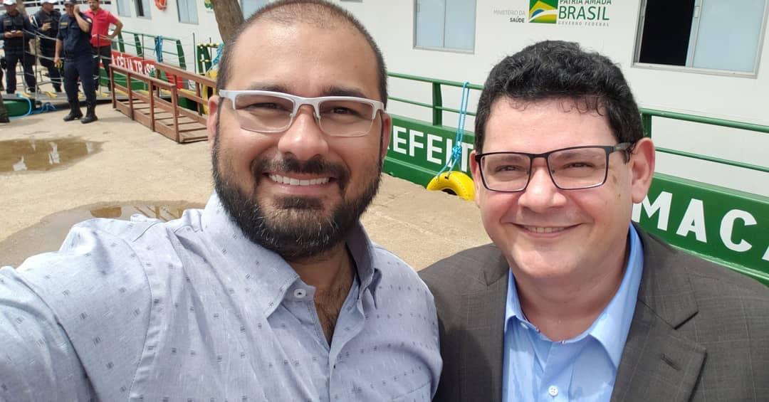 Josiel e Caetano colam em Clécio para ver se cola com o eleitor
