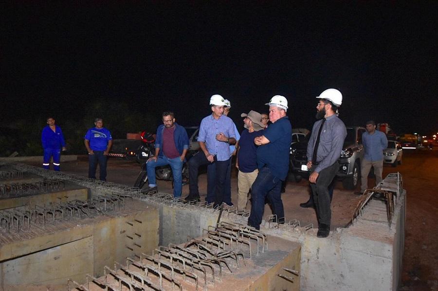 Nova Duca Serra: etapa com montagem de vigas de concreto é concluída